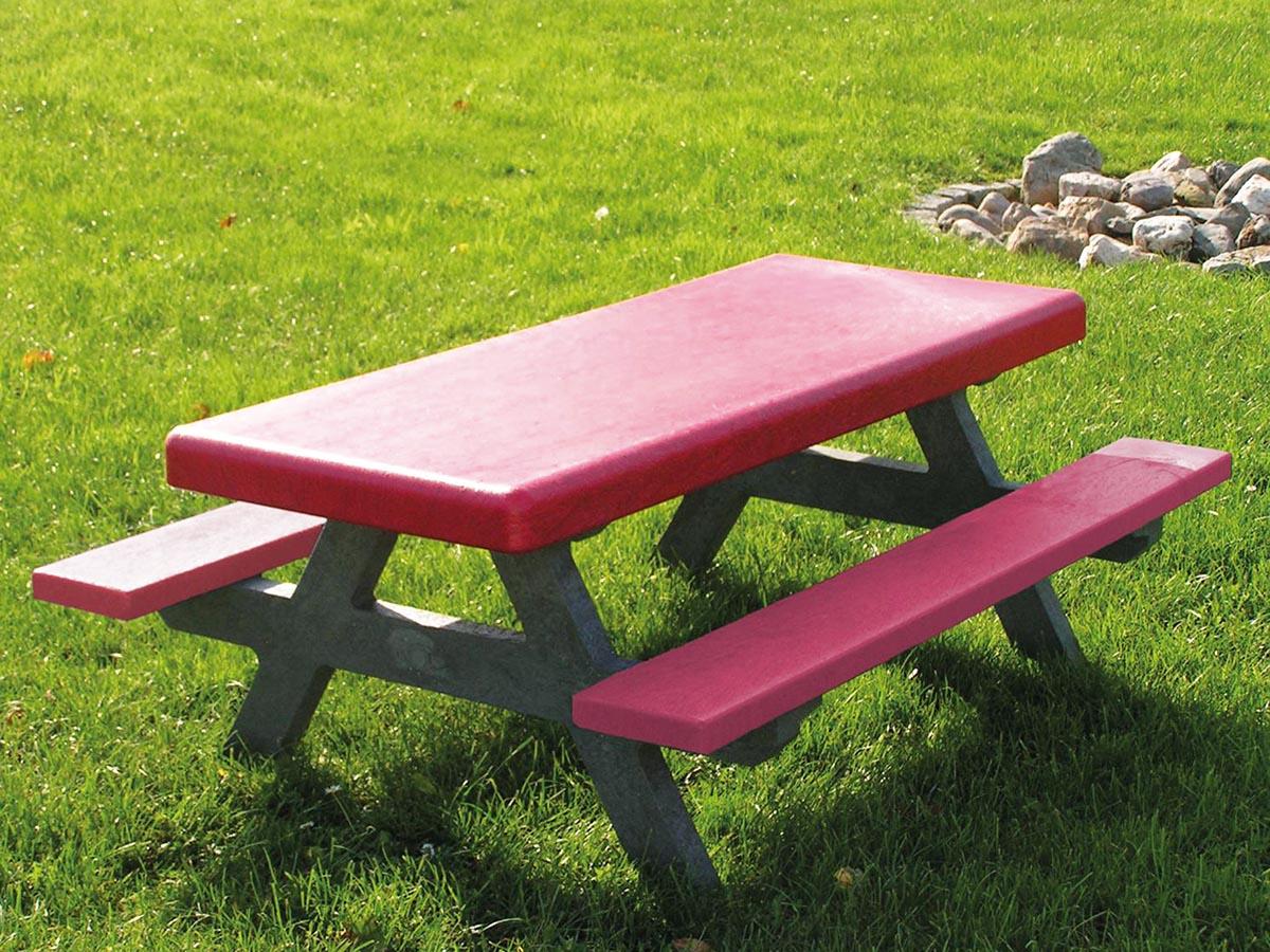 recycling picknicktisch knirps hesse spielger te. Black Bedroom Furniture Sets. Home Design Ideas
